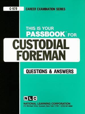 Custodial Foreman image