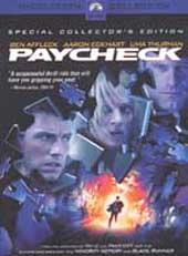 Paycheck on DVD