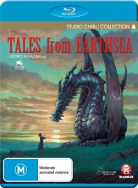 Tales From Earthsea on Blu-ray