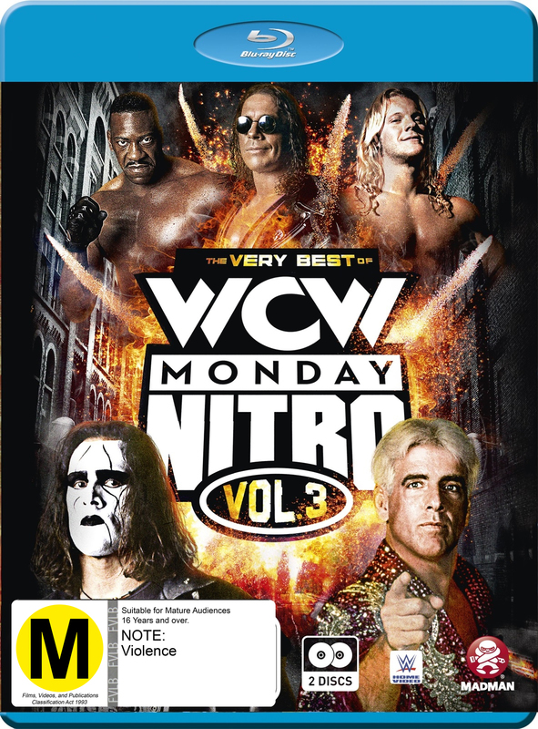 WWE: The Very Best Of WCW Monday Nitro Vol. 03 on Blu-ray