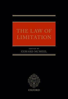 The Law of Limitation by Gerard McMeel