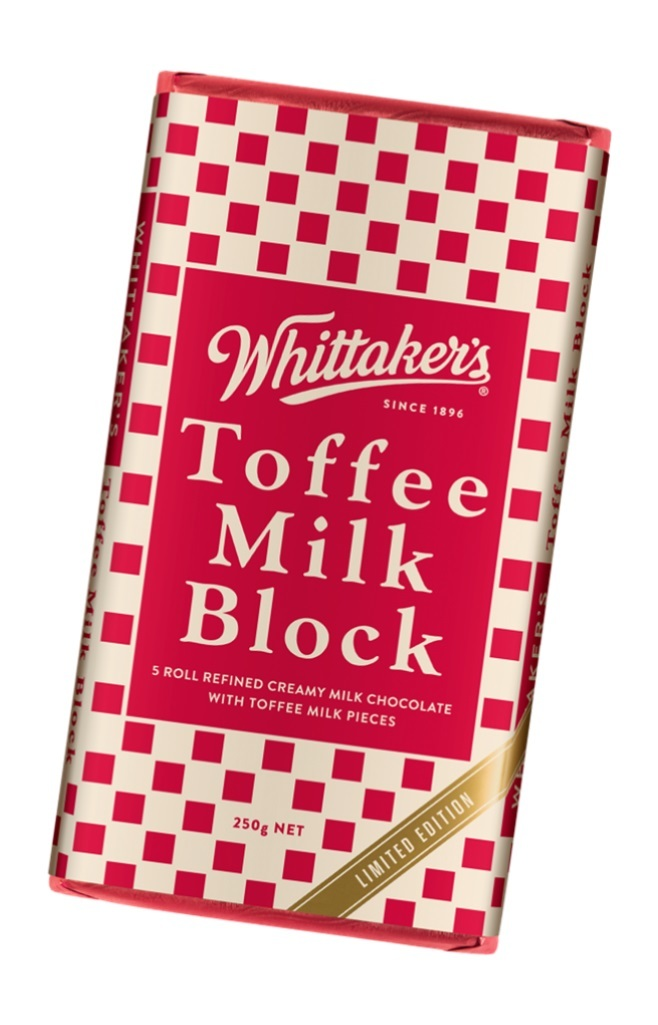Whittakers Block Toffee Milk (250g) image
