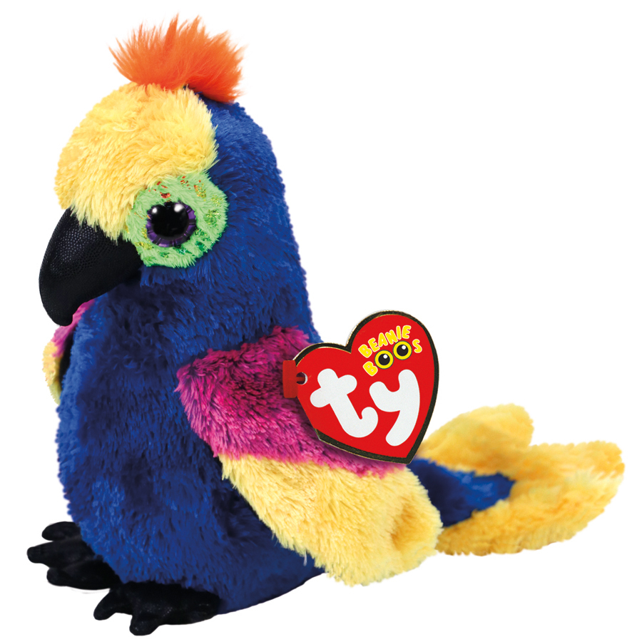 Ty Beanie Boo: Wynnie Parrot - Small Plush image