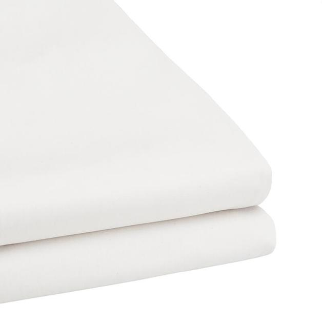 Bambury Tru Fit Fitted Sheet Queen (White)