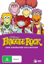 Fraggle Rock - The Animated Collection (3 Disc Set) on DVD