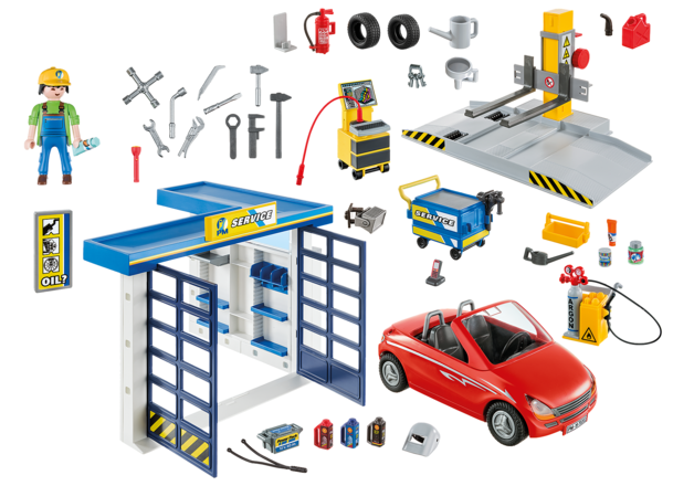 Playmobil: City Life - Car Repair Garage (70202)