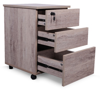 Office Drawers - Wood Grain image