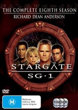 Stargate SG-1 - Season 8 (6 Disc Set) (New Packaging) on DVD image