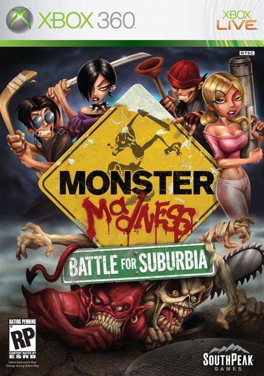 Monster Madness: Battle For Suburbia for Xbox 360