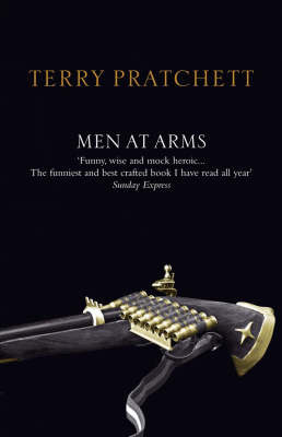 Men at Arms (Discworld - City Watch) (black cover) by Terry Pratchett