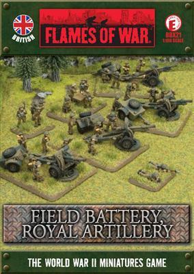 Flames of War - Field Battery Royal Artillery