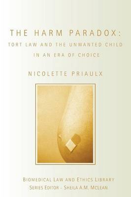 The Harm Paradox by Nicolette Priaulx image