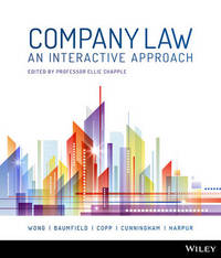 Company Law by Alex Wong