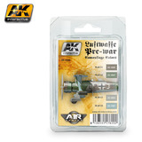 AK Luftwaffe Pre-war Camouflage Colours Paint Set
