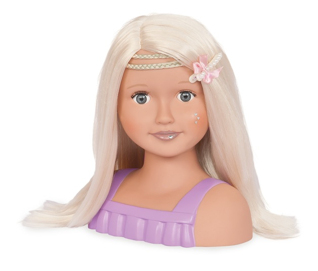 Our Generation: Styling Hair Doll Bust - Blonde