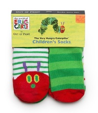 Very Hungry Caterpillar - Children's Socks - 12 - 24 Months (4 Pack)