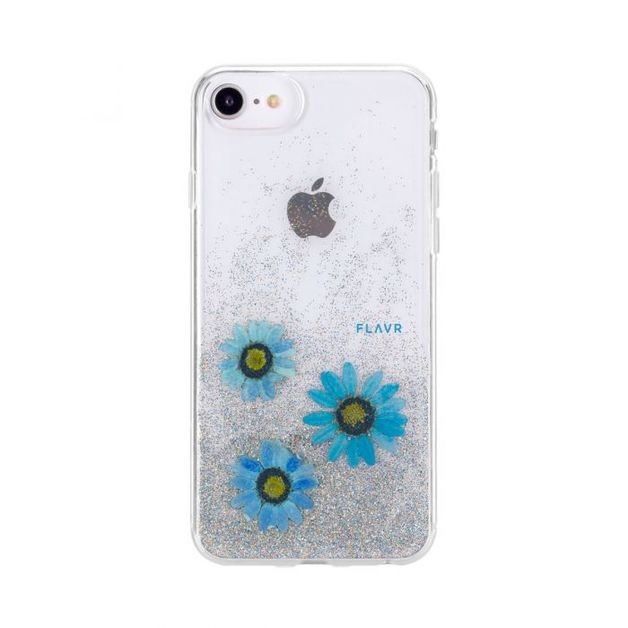 FLAVR iPhone 7/8 Real Flower Case - Paula Red   at Mighty Ape Australia