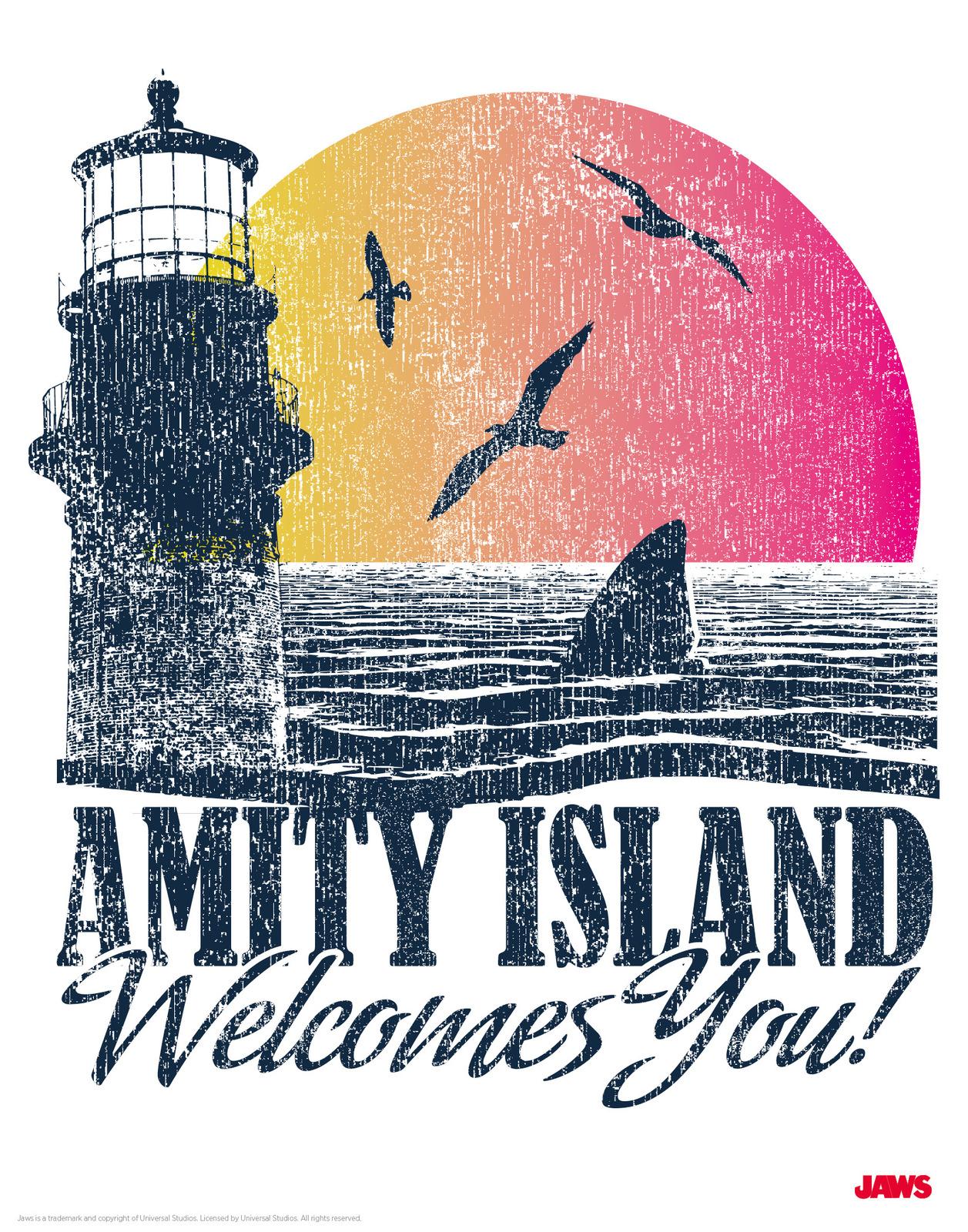 Jaws: Premium Art Print - Visit Amity image