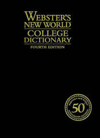 Webster's New World College Dictionary by ,David,B. Guralnik image