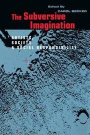 The Subversive Imagination by Carol S. Becker image