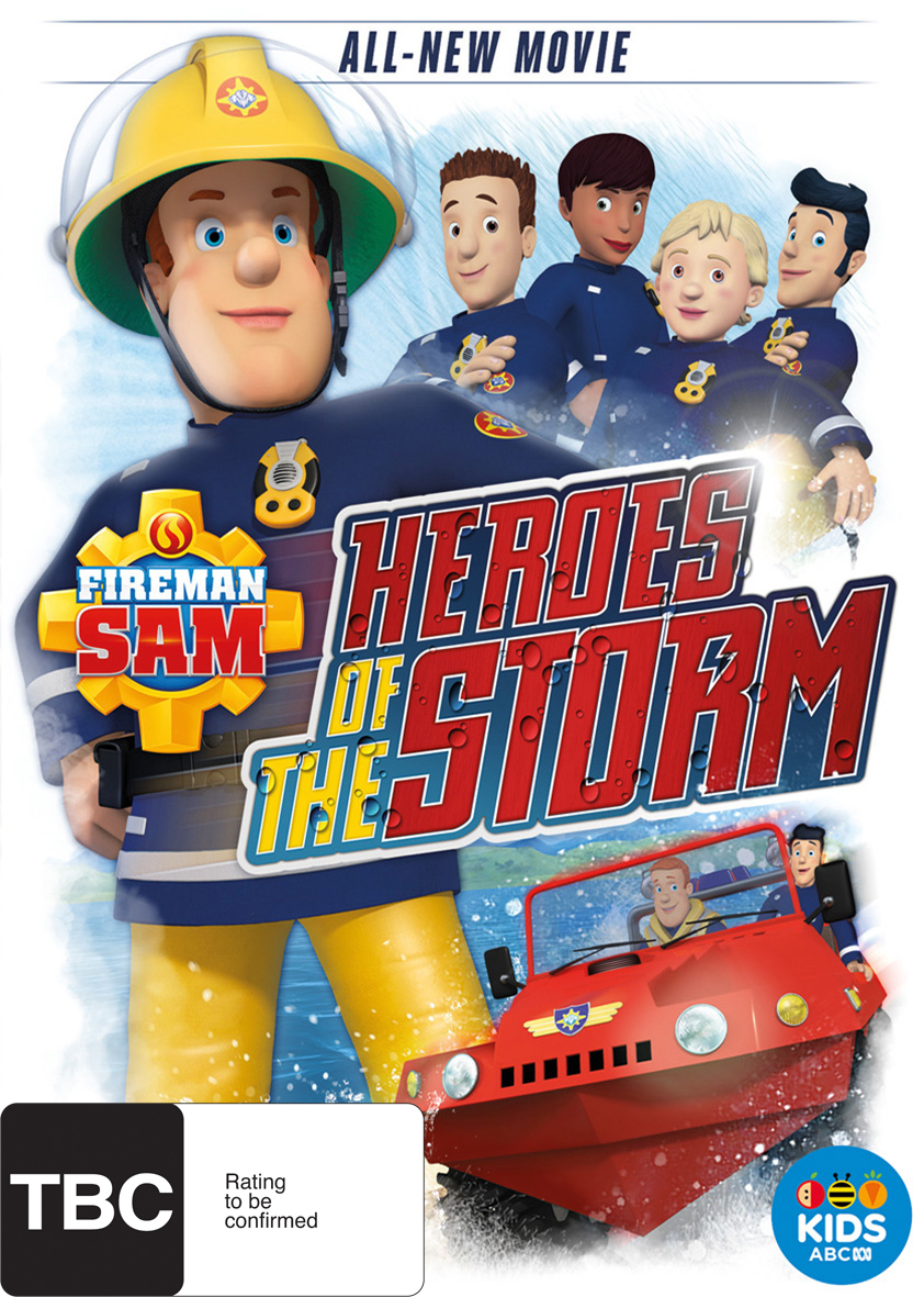 Fireman Sam: Heroes of the Storm on DVD image
