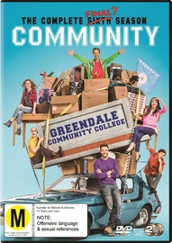 Community: Season 6 on DVD