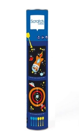 Scratch: Large Magnetic Dart Set - Astronaut