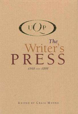 UQP The Writer's Press: 1948-1998 by Craig Munro image