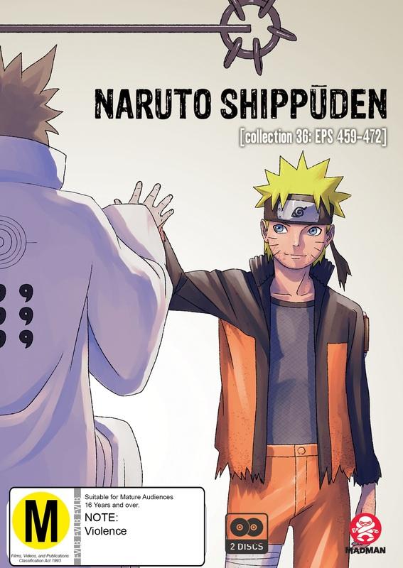 Naruto Shippuden: Collection 36 (eps 459-472) on DVD
