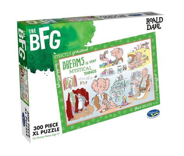 Roald Dahl: Themed Jigsaw Puzzle - The BFG