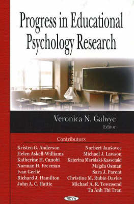 Progress in Educational Psychology Research image