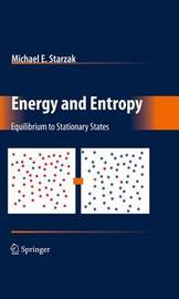 Energy and Entropy by Michael E. Starzak image