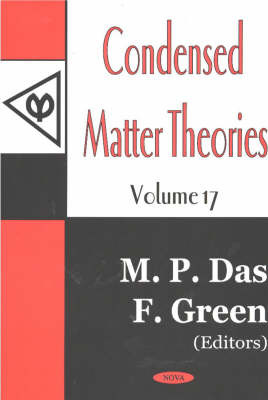 Condensed Matter Theories: v. 17 image