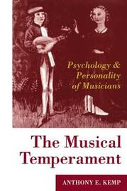 The Musical Temperament by A.E. Kemp image