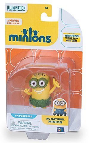 Minions - Action Figure - Au Natural Minion image