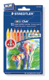 Staedtler - Noris Club Jumbo Coloured Pencils - Pack of 10