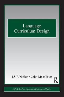 Language Curriculum Design by I.S.P. Nation