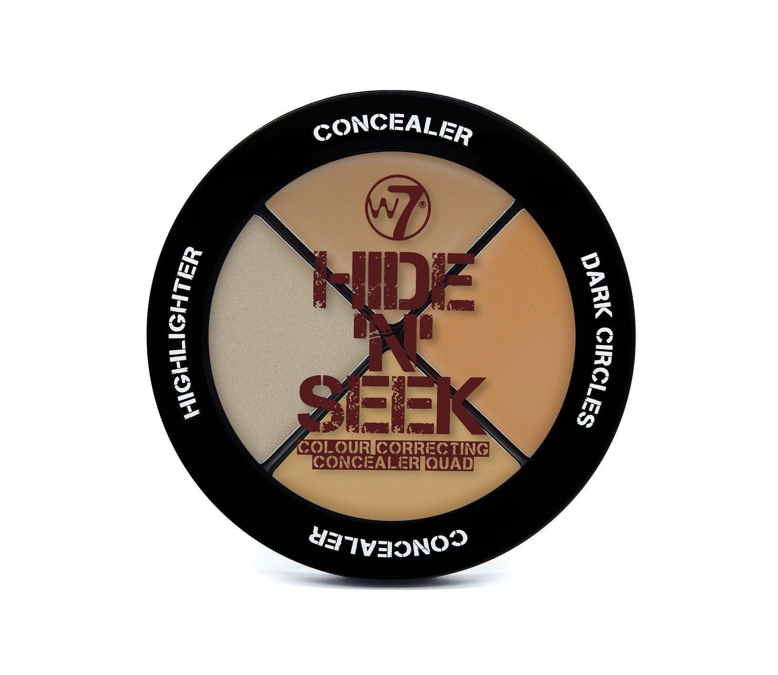 W7 Hide n Seek (Concealer Quad) image