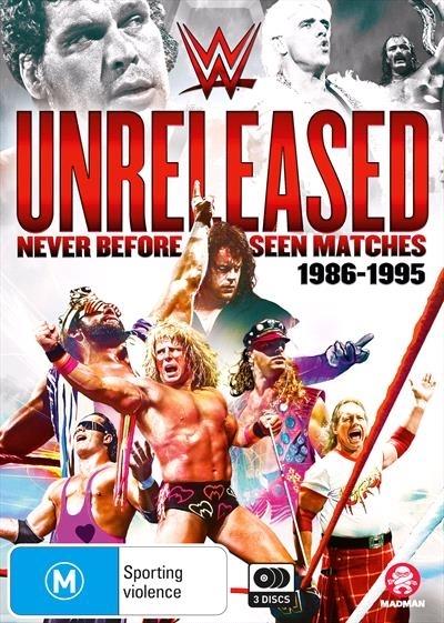 WWE: Unreleased - 1986-1995 on DVD image