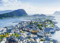 Ravensburger : Norway: Ålesund Puzzle (1000 Pcs)