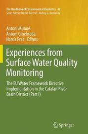 Experiences from Surface Water Quality Monitoring