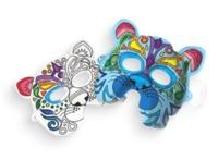 Ooly: 3D Colorables Activity Kit - Wild Cat Masks