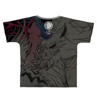 Monster Hunter: World Full Graphic T-Shirt B-Side Label Kirin XL