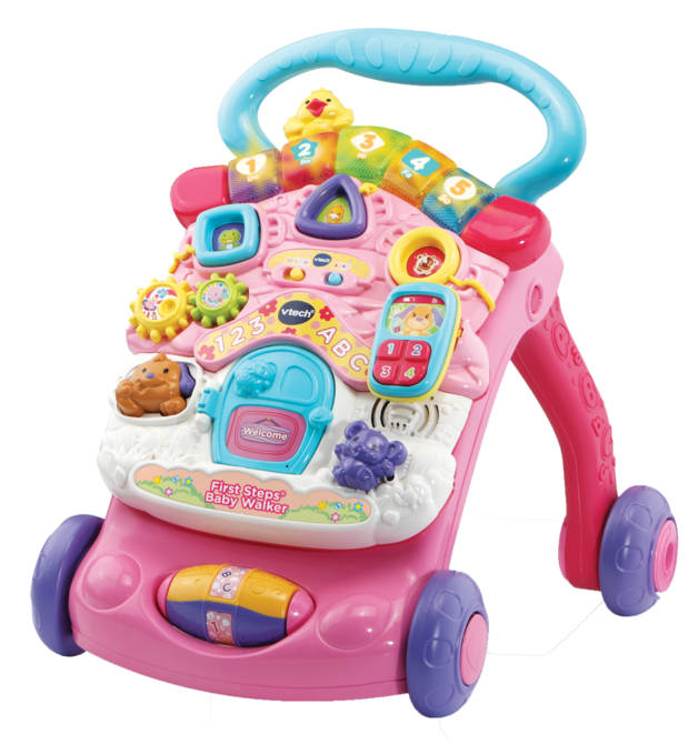 Vtech: First Steps - Baby Walker (Pink)