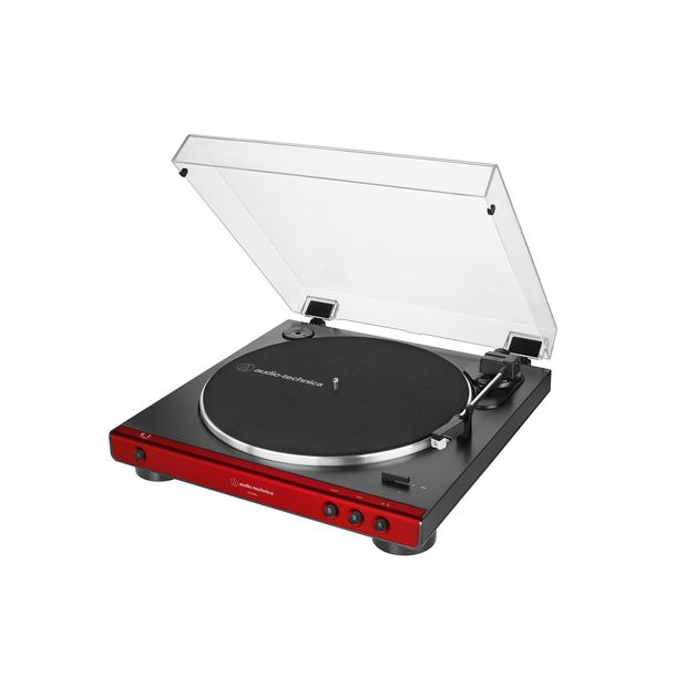 Audio Technica Fully Automatic Belt Drive turntable - Red