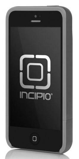 Incipio Stashback Credit Card Case for iPhone 5 - Graphite Grey Haze Grey 6948f9c96