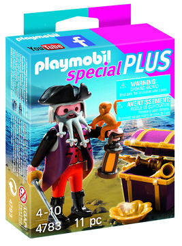 Playmobil: Special Plus - Pirate with Treasure (4783) image