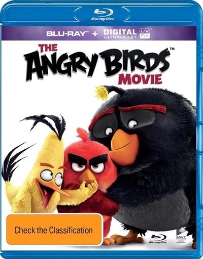 The Angry Birds Movie on Blu-ray