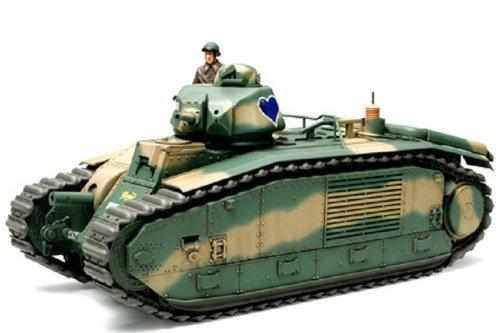 Tamiya 1/35 B1 Bis French Battle Tank - Model Kit image