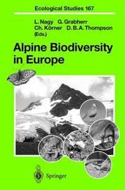 Alpine Biodiversity in Europe